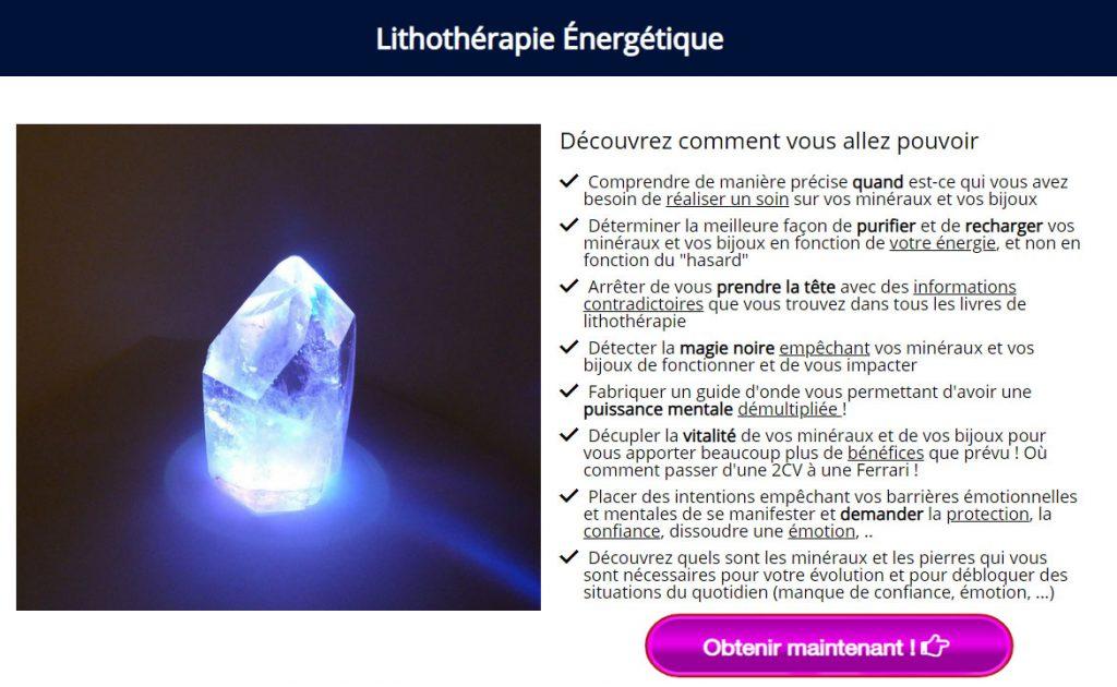 Apprendre la lithothérapie énergétique, formation lithothérapie énergétique