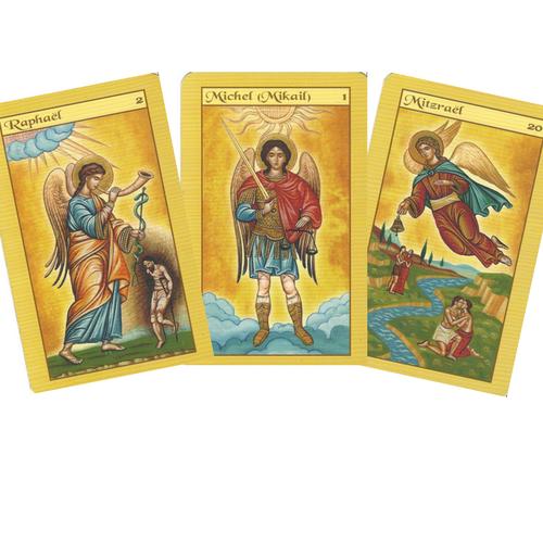 Les Cartes des Anges 3 cartes