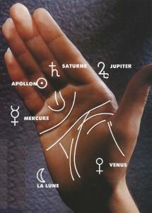 Lignes de la main gratuit