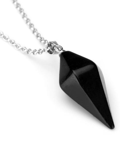 DVRDPE1.08 Pendule divinatoire Agathe noire