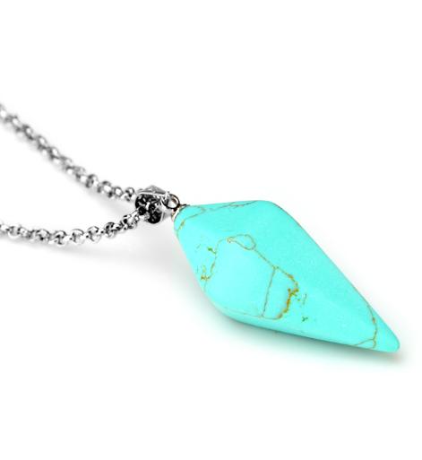 DVRDPE1.08 Pendule divinatoire Turquoise
