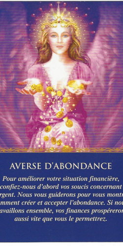 Oracles des Anges Averse d'Abondance